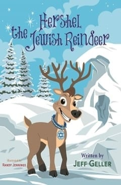 Click through for this adorable book that tells the tale of Hershel the Jewish reindeer as he and his friends of every religion help Christian friends on their special night.