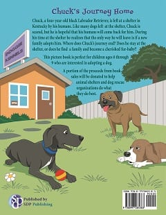 Click through to learn more about Chuck's Journey Home - a delightful story about a dog searching for his forever home - for dog lovers young and old seeking their own furry family friend!