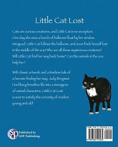 Come learn about the sweet book Little Cat Lost and her escapades exploring!