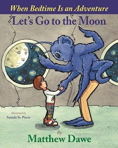 Click through to learn more about the wonderfully fun book Let's Go to the Moon!